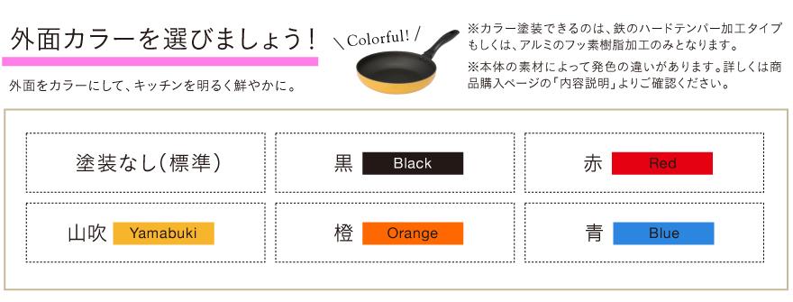 外面カラーを選びましょう!